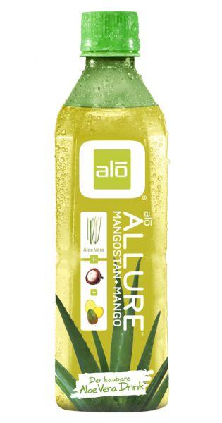 ALO Drink - ALLURE, Aloe Vera, Mango und Mangostan 0,5l