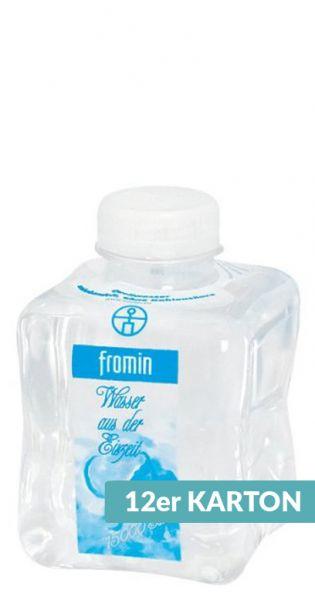 fromin Wasser - Wasser aus der Eiszeit, still - 0,5l (12er Karton)