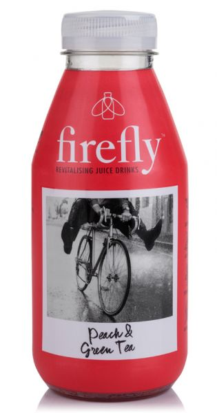 firefly natural drinks - red: Peach & Green Tea 0,4l PET