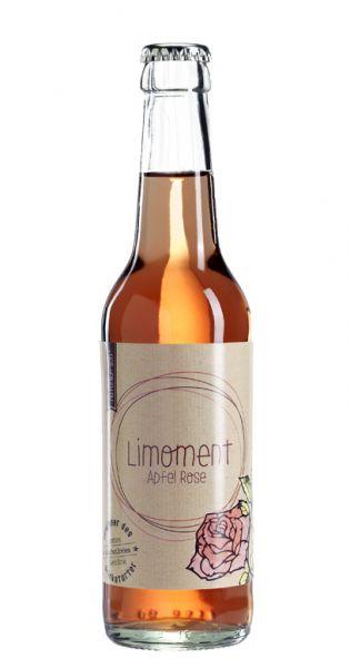 Limoment - Apfel und Rose 0,33l Glas