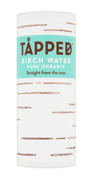 Tapped - Birkenwasser pur, 0,25l Karton Dose