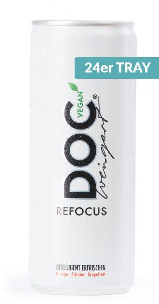 Doc Weingart - Refocus Active Drink, vegan - 0,25l (24er Tray)
