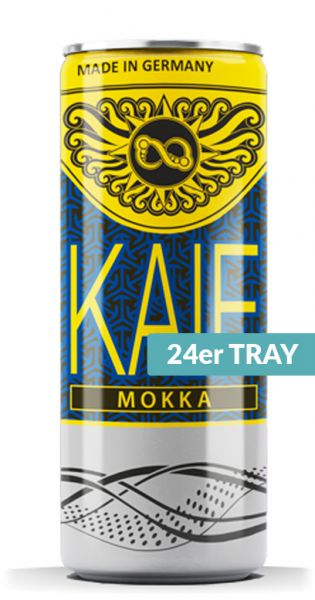 KAIF - Energy Mokka, 0,25l - Dose (24er Karton)