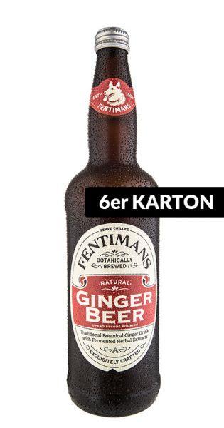 Fentimans - Ginger Beer, alkoholfrei - 0,75l (6er Karton)