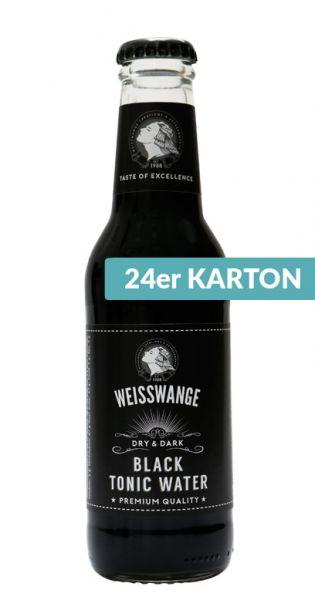 Weisswange - Schwarzes Tonic Wasser, Trocken und Schwarz 0,2l (24er Karton)