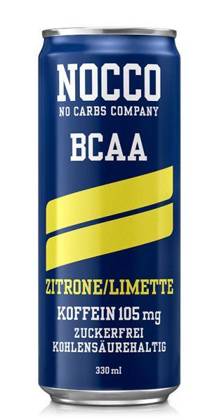 NOCCO BCAA - Zitrone, Limette - 0,33l (Einzeldose)