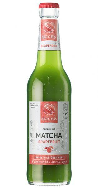 Seicha Matcha Drink - Grapefruit 0,33l Glas