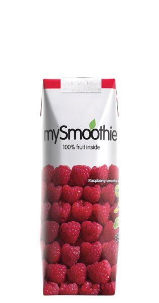mySmoothie - ohne Kühlung haltbar, Himbeere 0,25l Tetra-Pak