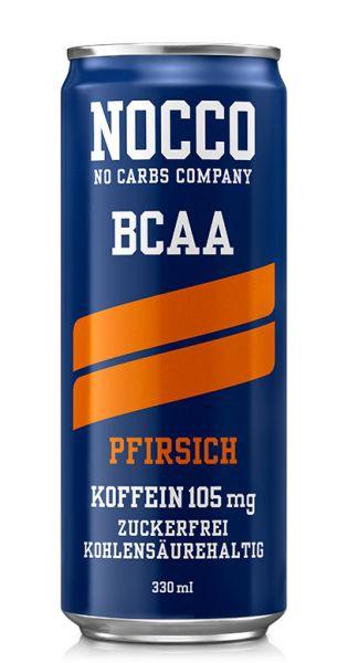 NOCCO BCAA - Pfirsich - 0,33l (Einzeldose)