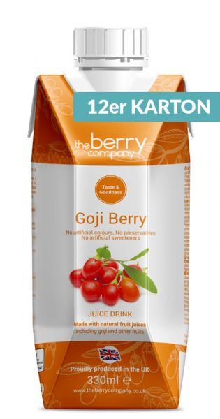 The Berry Company - Gojibeere 0,33l Tetra-Pak (12er Karton)