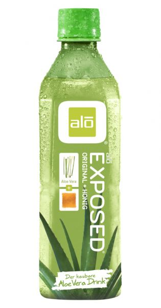 ALO Drink - EXPOSED, Aloe Vera mit Honig 0,5l