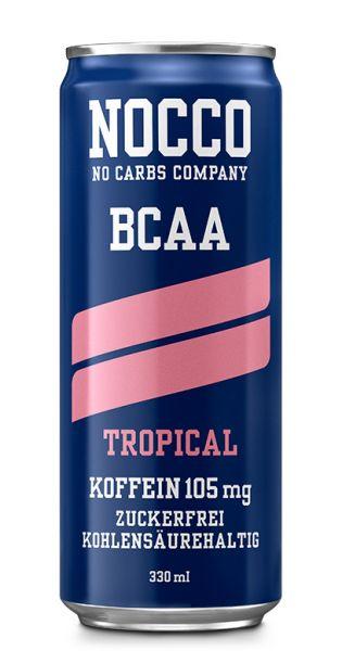 NOCCO BCAA -Tropical - 0,33l (Einzeldose)