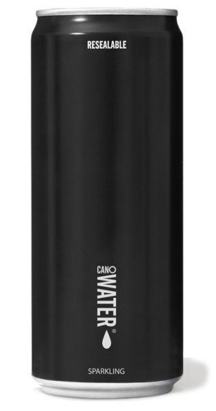 CanO Water - Premium Wasser aus der Dose, wiederverschließbar - sprudelig 0,33l Dose