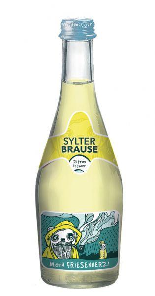 Sylter Brause - Moin Friesennerz, Zitrus und Ingwer, 0,33l - Glas