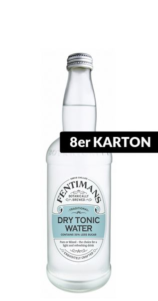 Fentimans - Dry Tonic Wasser - 0,5l (8er Karton)