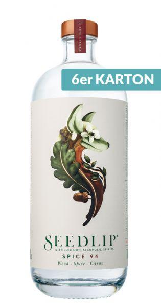 Seedlip Drink - erste Spirituose ohne Alkohol, Spice 94 0,7l (6er Karton)