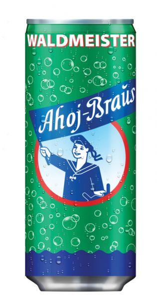 Ahoj Brause Drink - Waldmeister - 0,33l (EinzelDrink)