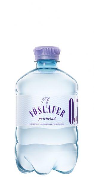 Voeslauer Mineralwasser - prickelnd 0,5l PET