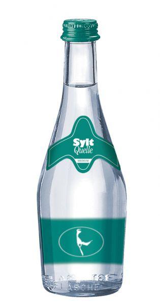 Sylt Quelle - Das Premium Wasser von der Insel, Medium 0,33l - Glas