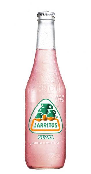 Jarritos mexikanische Limo - natürlicher Geschmack, Guava 0,37l - Glas