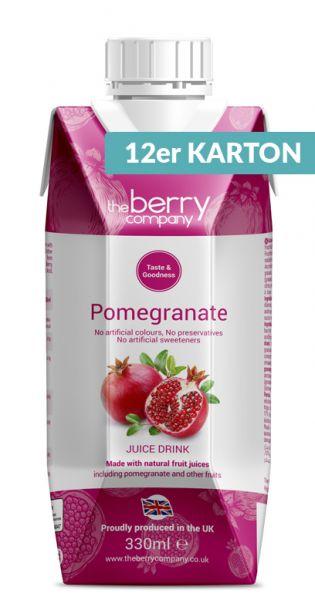 The Berry Company - Granatapfel 0,33l Tetra-Pak (12er Karton)