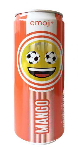 Emoji Drink - Keep Smiling, Mango, 0,33l - Dose - MHD Ware 03.11.2019