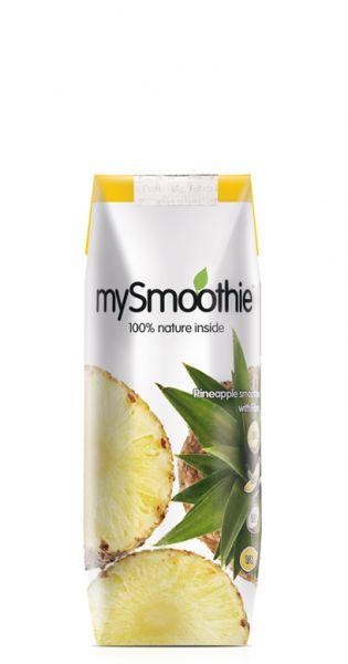 mySmoothie - ohne Kühlung haltbar, Ananas 0,25l Tetra-Pak
