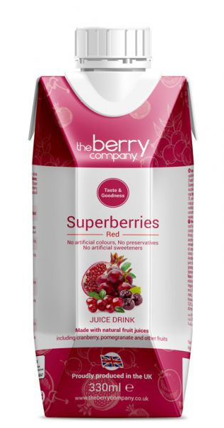The Berry Company - Red, Superberries 0,33l Tetra-Pak