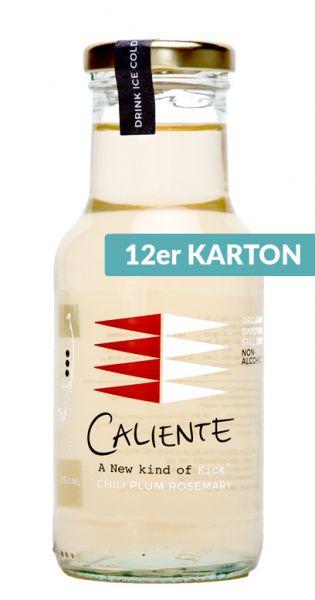 Caliente - Pflaume, Rosmarin, Chili 0,25l Glas (12er Karton)
