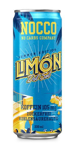 NOCCO BCAA - Limon del Sol - 0,33l (Einzeldose)