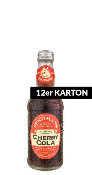 Fentimans - Kirsche Cola - 0,275l (12er Karton)