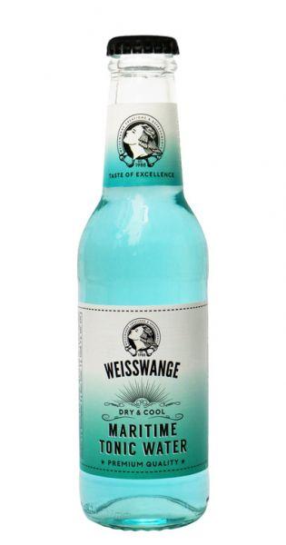 Weisswange - Maritim Tonic Wasser, Trocken und Cool 0,2l Glas-Flasche