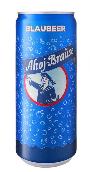 Ahoj Brause Drink - Blaubeere - 0,33l (EinzelDrink)