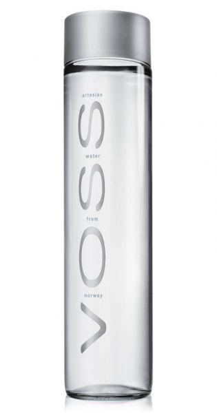 Voss Wasser - Premium Wasser - still 0,8l Glas