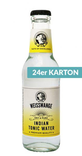 Weisswange - Indisches Tonic Wasser, Trocken und Pur 0,2l (24er Karton)