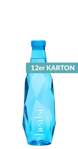 healsi Water - Diamant Flasche, blue 0,5l PET (12er Karton)