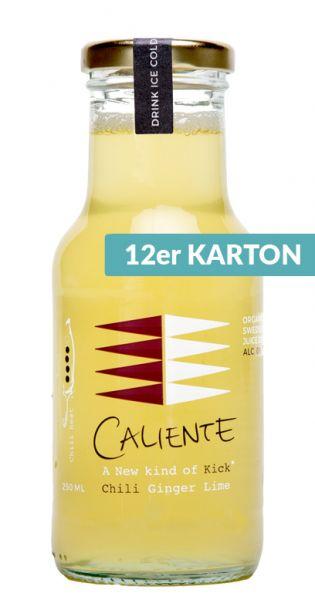 Caliente - Ingwer, Chili 0,25l Glas (12er Karton)