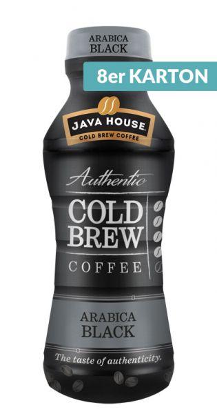Java House - Cold Brew Coffee, Arabica Black 0,3l PET (8er Karton)