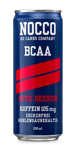 NOCCO BCAA - Rote Beeren - 0,33l (Einzeldose)