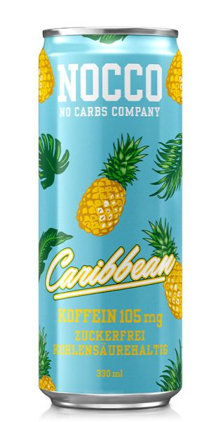NOCCO BCAA - Caribbean - 0,33l (Einzeldose)