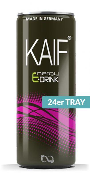 KAIF - Energy Black, 0,25l - Dose (24er Karton)