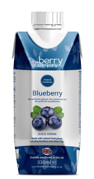 The Berry Company - Blaubeere 0,33l Tetra-Pak
