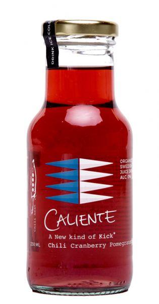 Caliente - Cranberry, Granatapfel, Chili 0,25l Glas