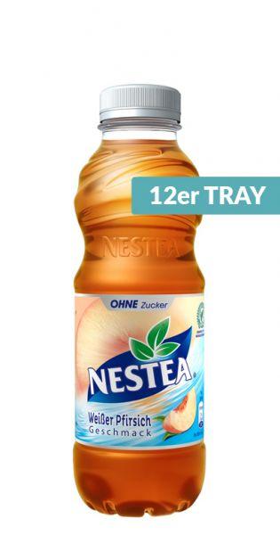 Nestea Eistee - Weißer Pfirsich Zuckerfrei - 0,5l (12er Tray)