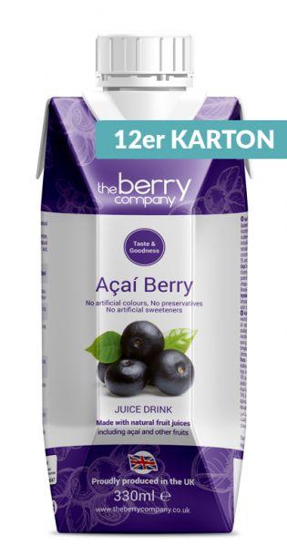 The Berry Company - Acai 0,33l Tetra-Pak (12er Karton)