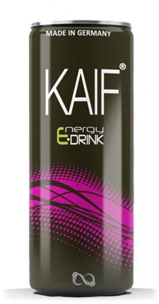 KAIF - Energy Black - 0,25l (Einzeldose) - MHD Ware 27.05.2020