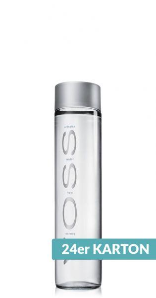 Voss Wasser - Premium Wasser - still 0,375l Glas (24er Karton)