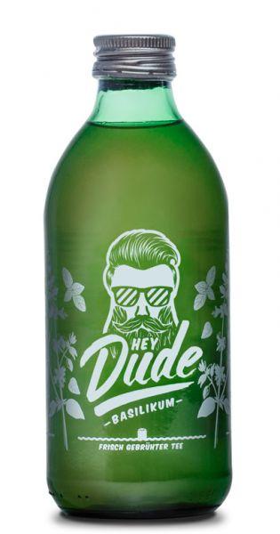 Hey Dude - Eistee Basilikum 0,33l Glas