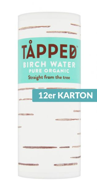 Tapped - Birkenwasser pur, 0,25l (12er Karton)