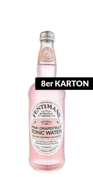 Fentimans - Pinke Grapefruit Tonic Wasser - 0,5l (8er Karton)